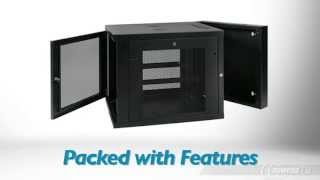 Tripp Lite Srw12us33 12u Smartrack Extended Depth Wall Mount Rack Enclosure Cabinet - Product Tour