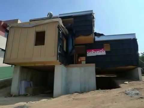 Montorn s del vall s casa eficient by sebastia youtube - Casas montornes del valles ...