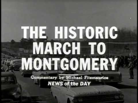 """The Historic March to Montgomery"" (Selma, AL, 3/20-21/1965)"