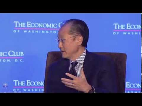 Dr. Jim Yong Kim, President, The World Bank Group