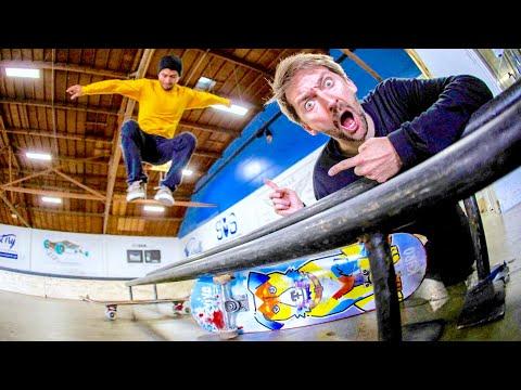 WORLD'S LONGEST HIPPIE JUMP CHALLENGE! | SKATEBOARD CHALLENGES EP. 25