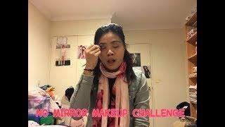 NO MIRROR MAKEUP CHALLENGE- FAIL| Sheree Chinn