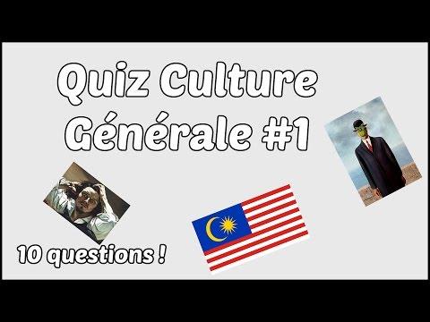 Quiz culture générale #1 - 10 Questions