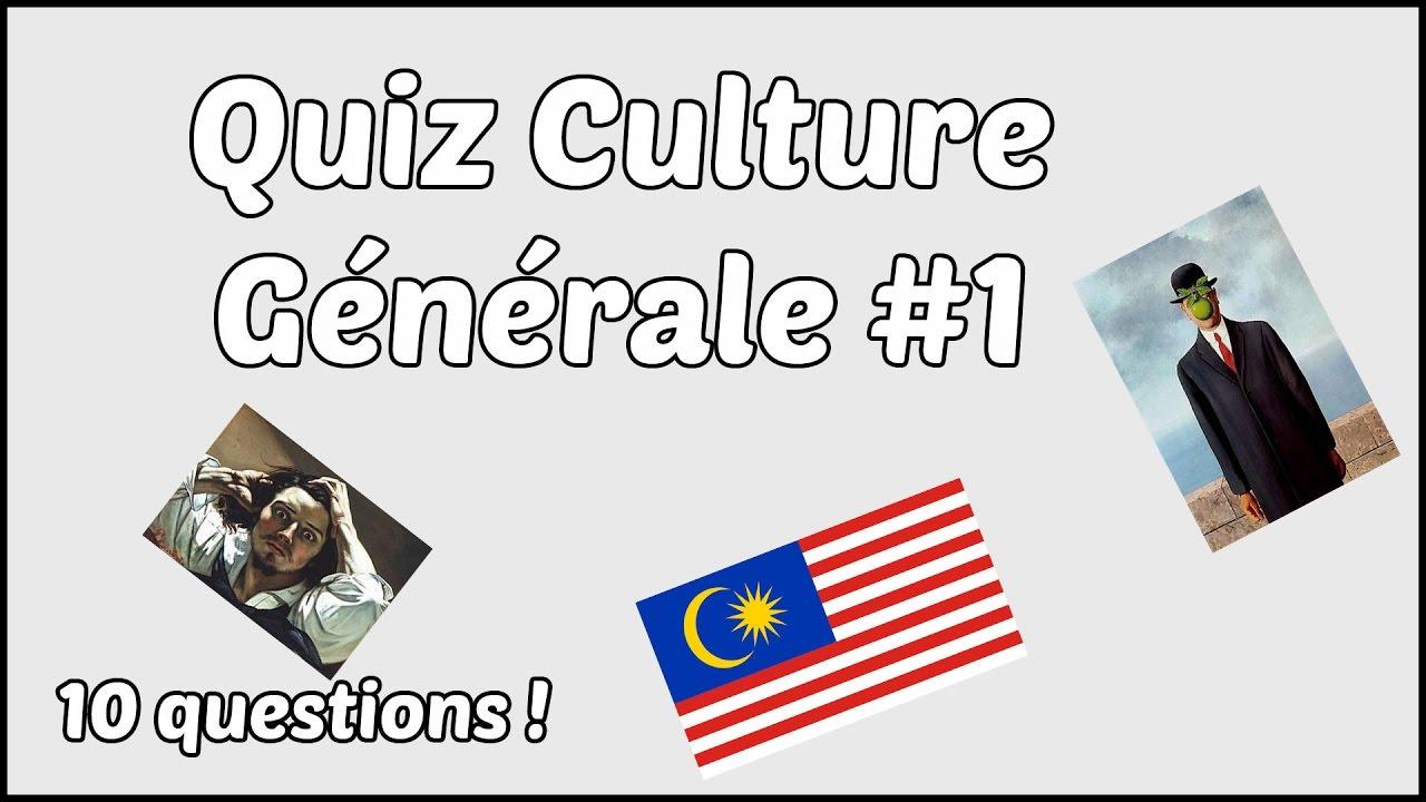 Quizz culture générale youtube