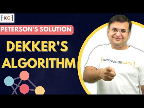 Part 5.6 Peterson Solution Operating System in HINDI | Dekker's Algorithm in OS Critical Section