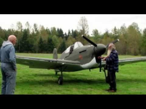 Flight testing Loehle P-40 Warhawk WWII 3/4 scale replica ...