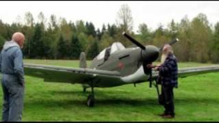 Flight testing Loehle P-40 Warhawk WWII 3/4 scale replica aircraft