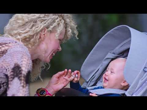 ✿蟲寶寶✿【挪威Stokke】 豪華高景觀 嬰兒手推車 Xplory V6 經典款 - 藕粉色座椅