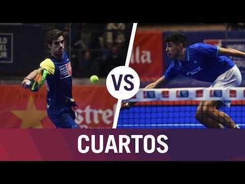 Resumen Cuartos de Final Belluati/Lebrón VS Jardim/Tapia | Estrella Damm Catalunya Master
