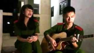 Mẹ yêu guitar cover by Huy Đào and Hoàng Ly