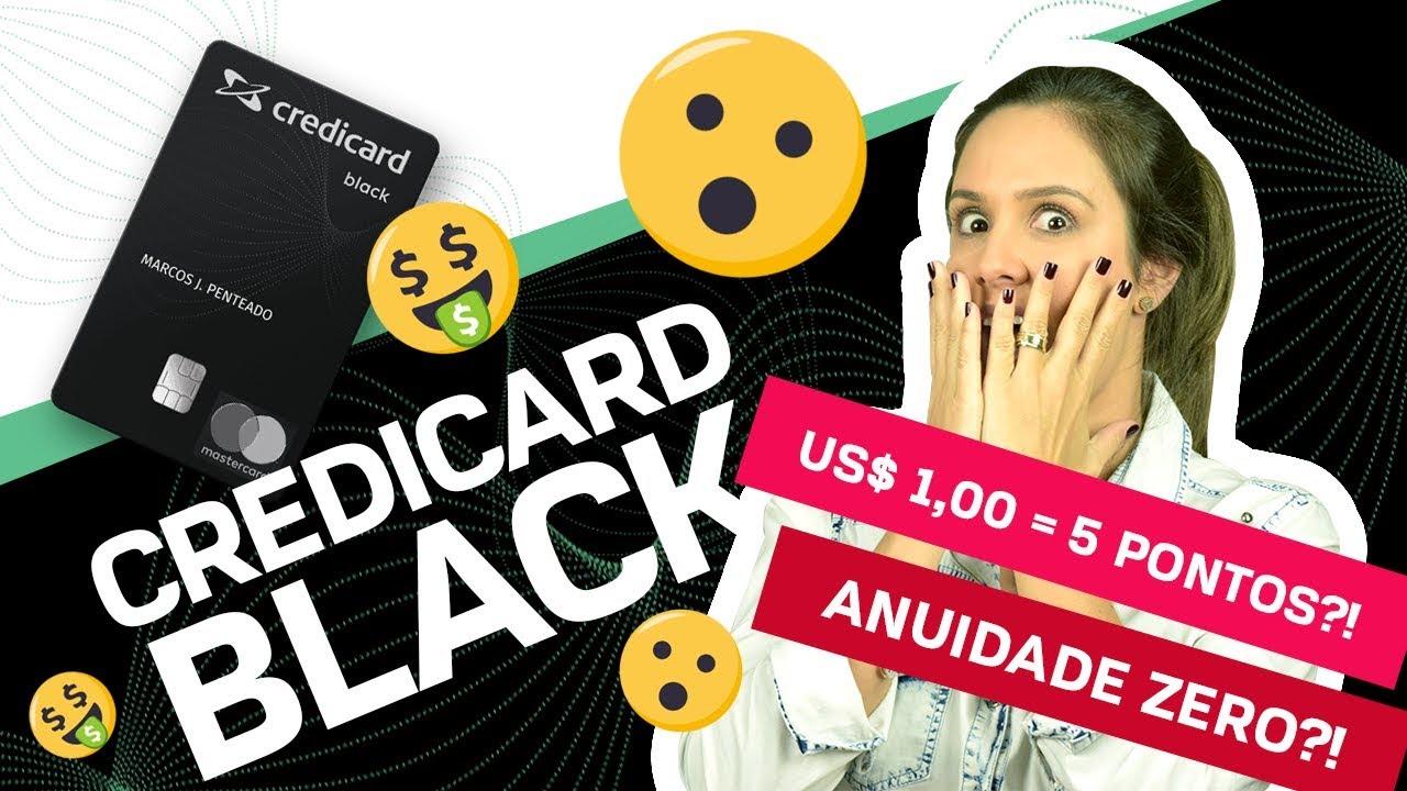 7a0dd8bb35b91 NOVO cartão de crédito CREDICARD BLACK