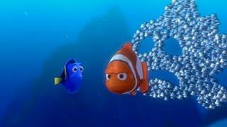 """Стая рыб кривляет Марлина - """"В поисках Немо"""" отрывок из фильма"""