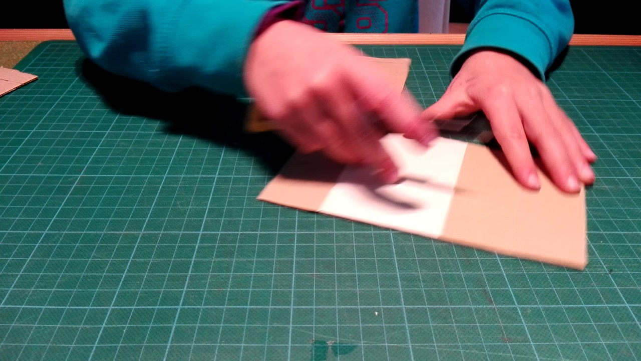 Bed Van Karton : Hoe maak je een bed van karton youtube