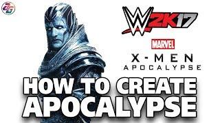 WWE 2K17, Wie man erstellen Apokalypse, Benutzerdefinierte Zeichen ohne Mod oder Custom-Logo