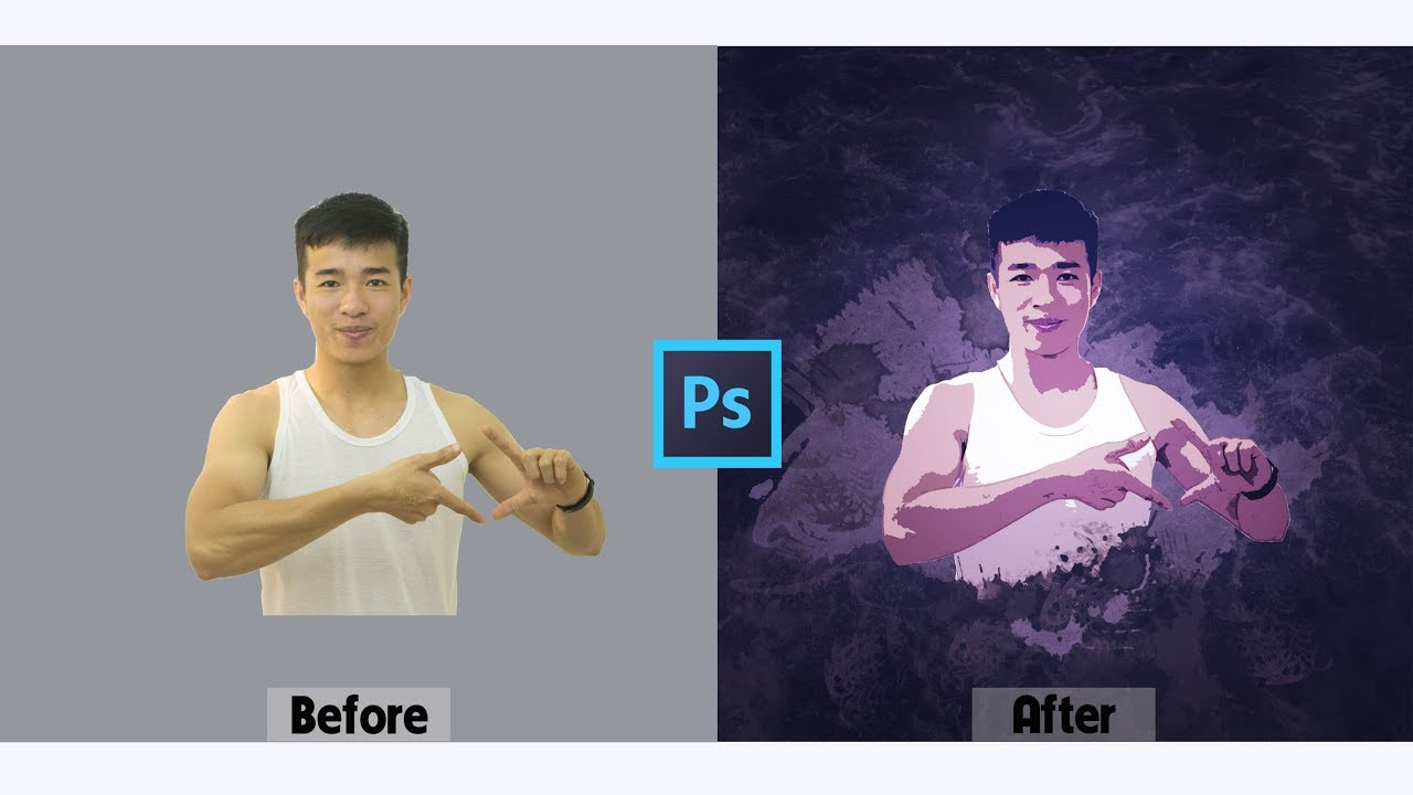Chuyển Ảnh Thành Tranh Màu Nước Nghệ Thuật Bằng Photoshop   Tự Học Photoshop