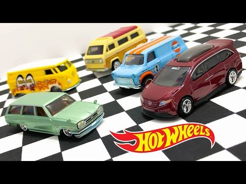 Opening Hot Wheels Cargo Carriers Car Culture Series