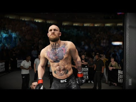 UFC 3 (Xbox One) Gameplay: Conor McGregor Vs Kevin Lee Full Light Weight Division Fight (UFC 3 BETA)