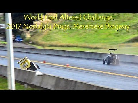 World Fuel Altered Challenge Round 3. 2017 Nostalgia Drags, Meremere Dragway
