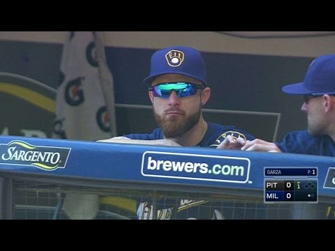 PIT@MIL: Brewers broadcast on Lucroy vetoing trade