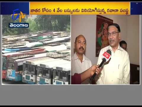 ETV Chats With RTC JMD Ramana Rao On Medaram Jathara Arrangements