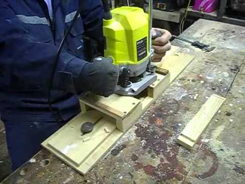 Приспособление для изготовления шипа фрезером