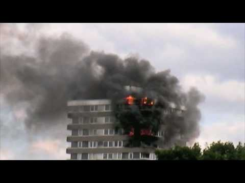 Madingley Tower Block Fire, Kingston upon Thames