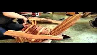 Making A Cedar Adirondack Chair