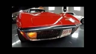 1970 Corvette - Red/Black, Automatic, Great Driver - Seven Hills Motorcars, Inc.