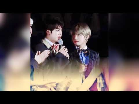 Taejin the way tae looks at jin 💜 (fmv I dont wanna live forever)