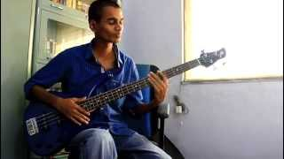 Choti si asha/ Chinna Chinna Asai -Bass cover - Roja