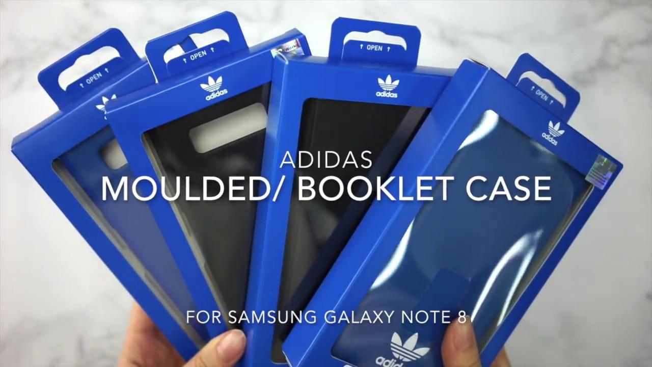 on sale 4571b 9e62b Adidas Originals Samsung Galaxy Note 8 保護套/保護殻 - Unboxing 開箱