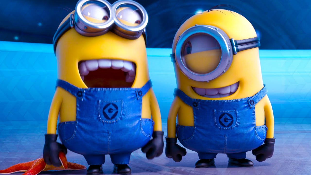 DESPICABLE ME 2 All Best Movie Clips (2013) - YouTube