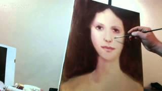 КАК рисовать портрет.МАКС Скоблинский.Живопись маслом.Уроки портрета