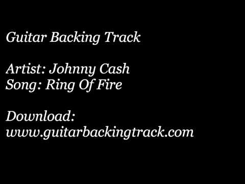 Guitar Backing Track: Johnny Cash - Ring Of Fire