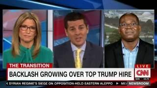 CNN: Dr Jason Johnson on SNL Dave Chappelle Trump Breitbart Pt 2 11/14/16