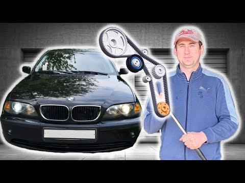 BMW двиг М56 Как правильно выставить ГРМ:Автосервис в США