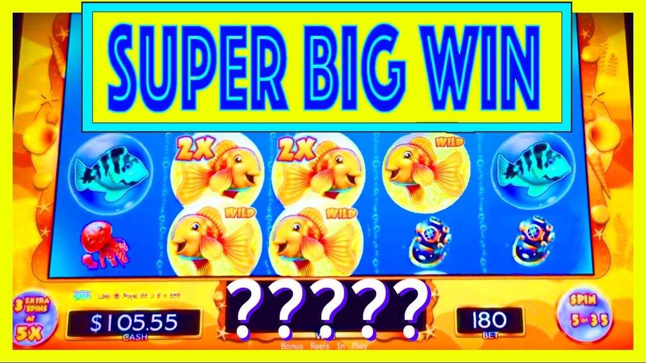 Super Big Win Goldfish Deluxe Slot W My Dad Slot Machine