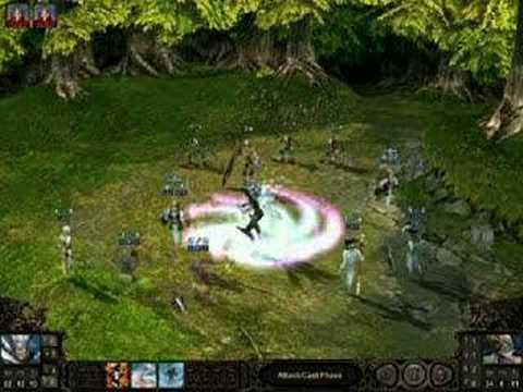 Etherlords 2 gameplay : Spirits vs Razors  