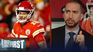 Nick Wright thinks the Chiefs are best team in football – not the Rams | NFL | FIRST THINGS FIRST