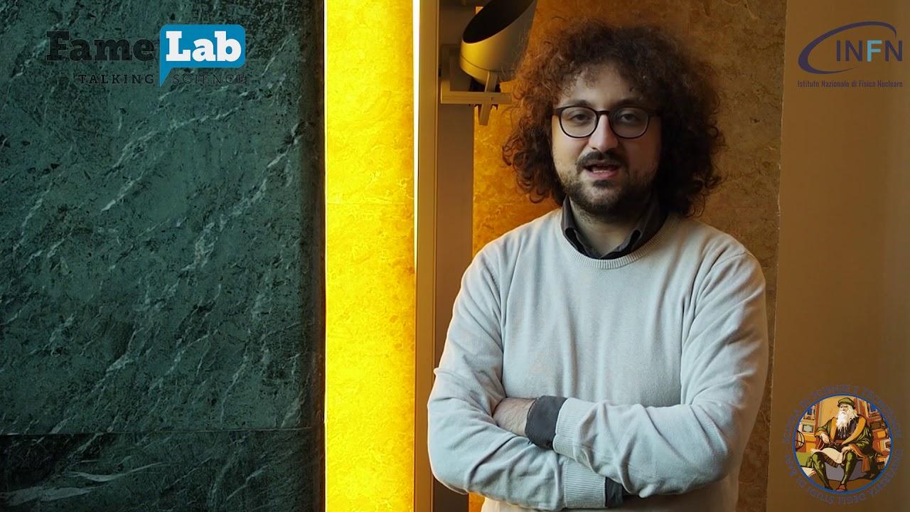 FameLab 2020 - Giovanni, Laureando