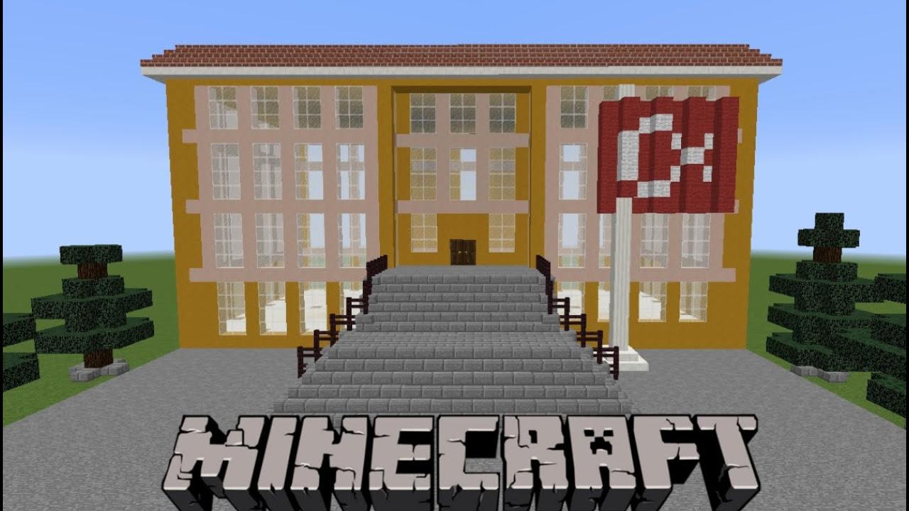 Minecraft: Okul Yapımı