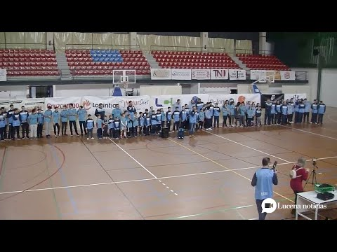 VÍDEO: El Club Baloncesto Ciudad de Lucena presentó a sus equipos para la presente temporada