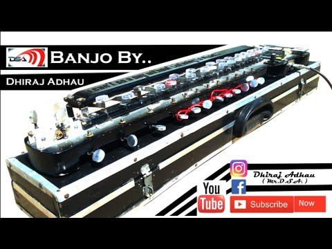 come-on-come-on,turn-the-radio-on-electronic-banjo-cover||banjo-master-dhiraj-adhau||mŕ.Đ.Š.Ã.