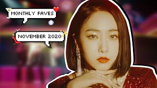monthly faves | kpop songs of november 2020