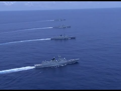 Chinese Navy Conducts Drill in South China Sea