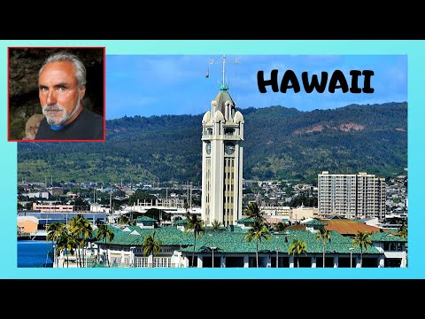 HONOLULU, spectacular views from the historic ALOHA TOWER, HAWAII