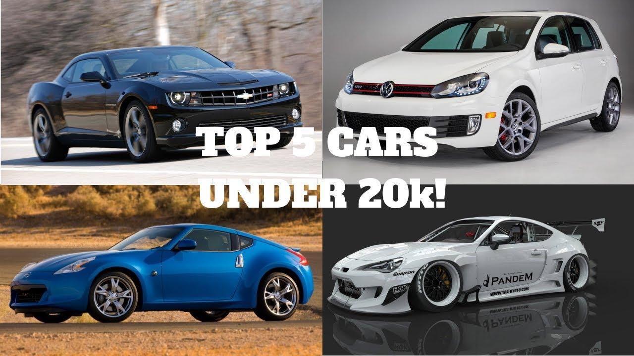 Cars Under 20k >> Best Sports Cars Under 20k