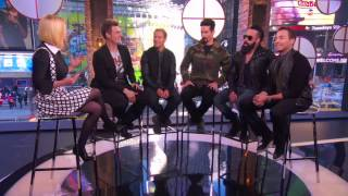 2013-12-16 - VH1 Buzz (Day 1) - Backstreet Boys Interview