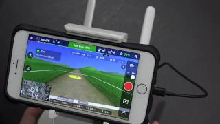 DJI Phantom 3 Flight Simulator Demonstration in 4K UltraHD