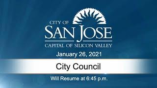 JAN 26, 2021 | City Council Evening Session